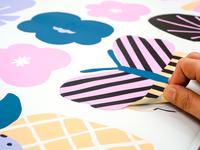 Sweet Japan Wall Stickers