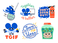 More stickers for Atlassian
