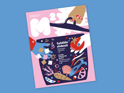 Cover illustration for M2