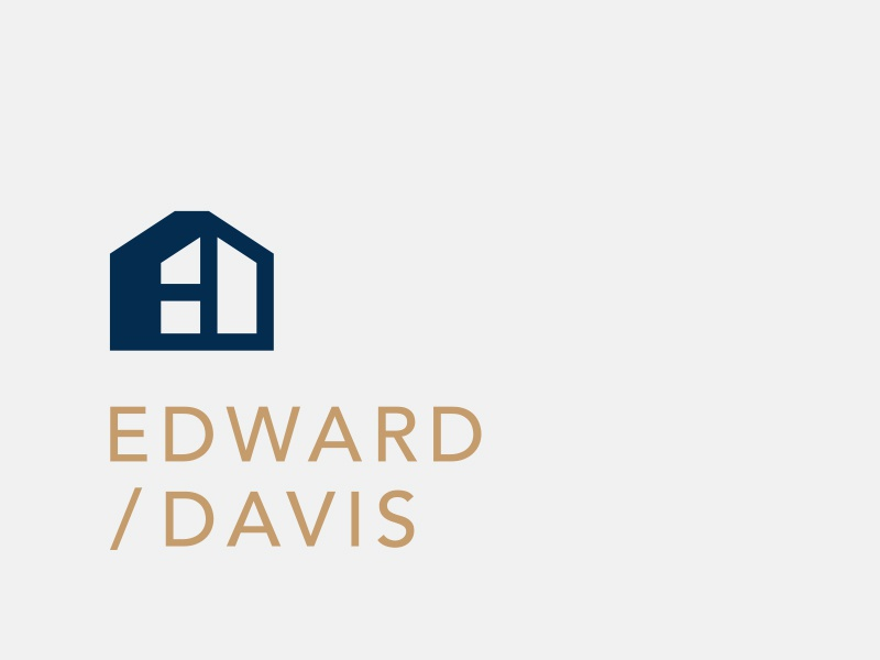 E&D Developments Option canada ottawa house monogram logotype icon mark logo