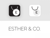 App Icon for online eCommerce fashion store | Esther & Co.