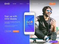 OVO Website Redesign
