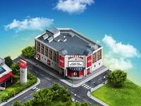 Isometric Cinema House