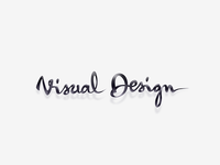 Visual Design Calligraphy