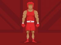 Team GB Olympic Boxer