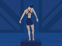 Team GB Olympic Swimmer
