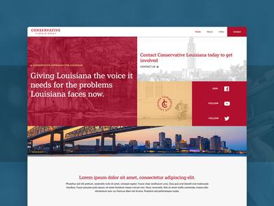 Conservative Louisiana Web