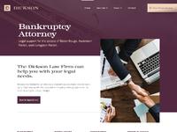Screencapture dickson law firm webflow io 2019 01 07 14 51 28
