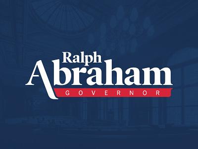 Abraham II logo a day wip logo concept politics louisiana patriotic typography branding political campaign political firm politican political logo