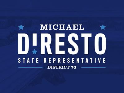 DiResto campaign monitor louisiana politicians political campaign brand branding logo campaign design politics politician political campaign campaign logo