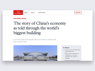 Type Exploration with The Economist