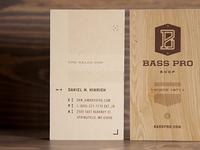 Bass Pro Shop Business cards
