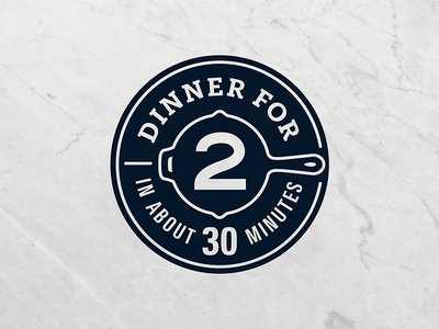 Amazon Meal Kits Badge dinner quick badge branding dinner for two amazon meal kits amazon