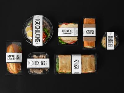 Amazon Go - Good Food Fast good food fast label design amazon type design handmade font handmade amazon go convenience food