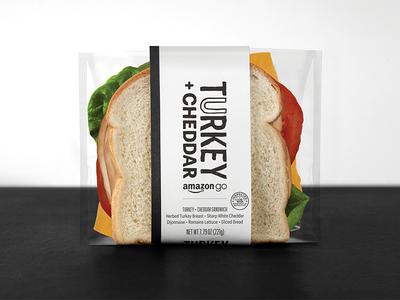 Amazon Go - Good Food Fast Sandwich amazon handmade font handmade label system food delicious convenience good food fast amazon go