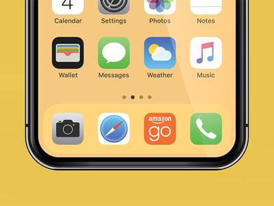 Amazon Go app icon convenience just walk out amazon go app