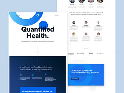 Q  startup health branding website