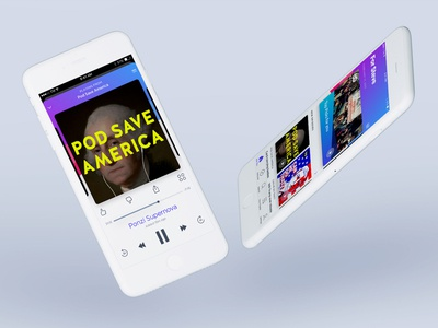 60dB iOS Redesign ios interface iphone media ux product ui player audio podcast