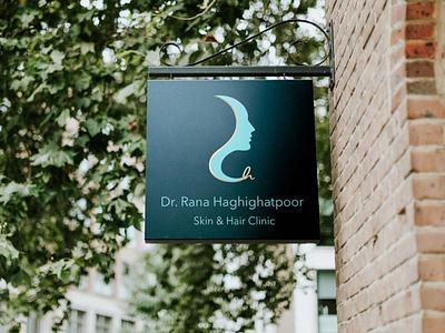 Logo design for a skin and hair clinic branding design logo illustration