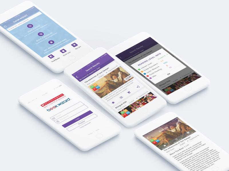 lending library ios app by sri dribbble dribbble