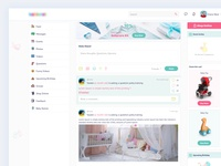 Baby Product Online Store - Dashboard