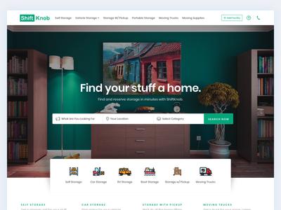 Shiftknob - Landing Page