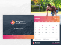 Progressive Calendar (2016)
