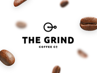 The Grind Coffee Co #thirtylogos