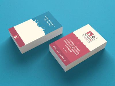 Lattosiono - Business Card Design