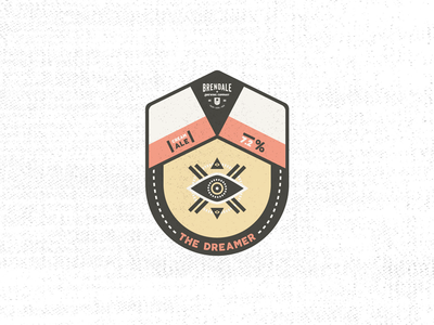 Australian Brewing Company - Badge // The Dreamer