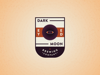 Dark Eyed Moon - Logo Design