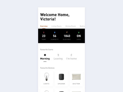 Daily UI - home monitor