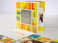 Hall of Fame brochure
