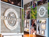 Hall of Fame Memorabilia Wall
