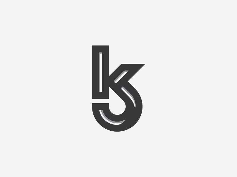 Ks Client Monogram By Rich Hinds On Dribbble
