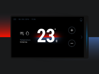 Home thermostat - 1
