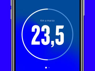 App in progress ux ui x iphone ios icons font design km loader app