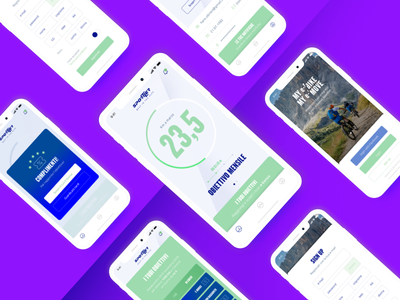 Bike monitoring App ux ui iphonex iphone ios bike sport design elettric monitoring app