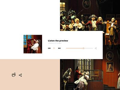 Barbiere di Siviglia 2 website ux ui sketch identity digital design creativity colors brand