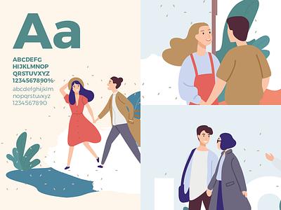 Branding details vector identity typography app sketch brand website ui illustration design