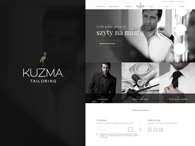 Online Store for Made-to-Measure Shirts rwd javascript ruby on rails emberjs ux ui design development website mobile ecommerce