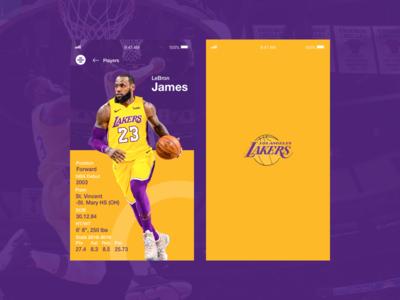 Lakers - Lebron James