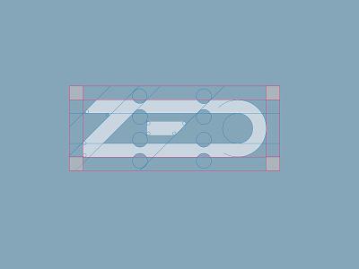 ZED construction lines french logo logotype