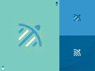 ALCP01 paris data mark symbol identity vector logotype lines illustration logo
