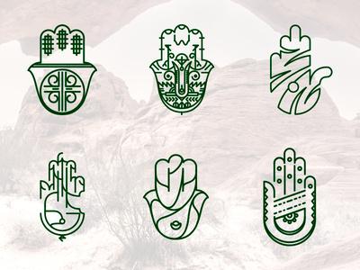 khamsa khamsa hand north africa fatima fatma symbol lines hamsa