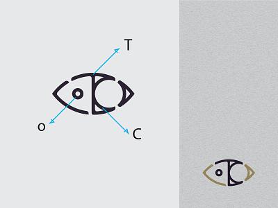ToC lines letters monogram logo