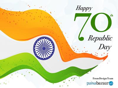 Republic Day background art indian flag india vector art design banner design illustation indian republic day paisabazaar 26 january republic day