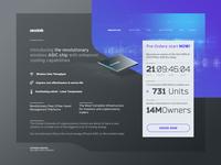 Zecotek Landing Page