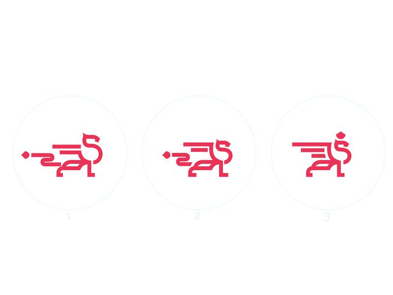 WIP Security Company Logo gryphon security logo icon logo design vector