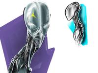 Alien Concept study